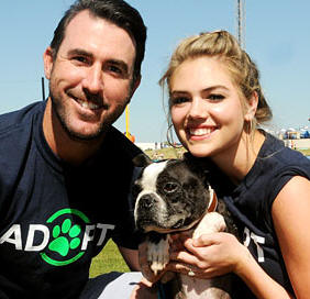 The Grand Slam Adoption Event hosted by Justin Verlander and Kate Upton