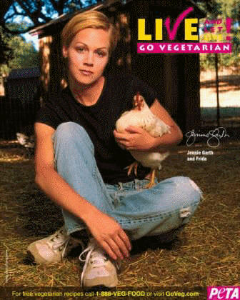Jennie Garth for PETA