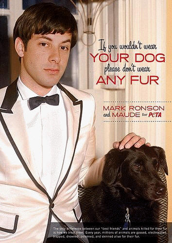 Mark Ronson for PETA