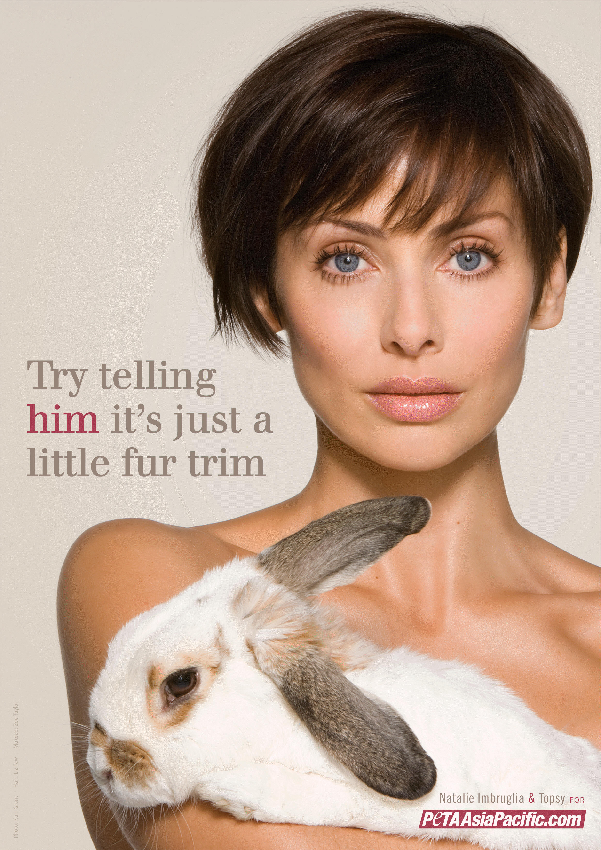 Natalie Imbruglia for PETA