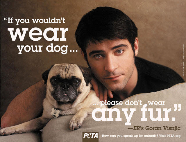 Goran Visnjic for PETA